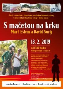 Cestovatelské večery v Hobby centru 4, Praha Komorské ostrovy – s mačetou na krku Mart Eslem a David Surý