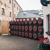 Exkurze v palírně irské whiskey Bushmills (Mart Eslem)