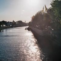 Dublinem protéká řeky Liffey (Mart Eslem)