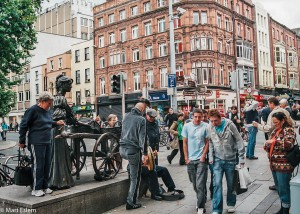 Socha Molly Malone v Dublinu (Mart Eslem)