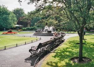 Park St. Stephen´s Green v Dublinu (Mart Eslem)