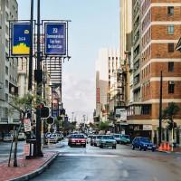 Ulice v centru Kapského města, JAR [Mart Eslem]