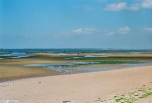 Pláž po odlivu, JAR [Mart Eslem]