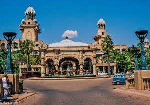 Hlavní vchod do hotele The Palace, JAR [Mart Eslem]