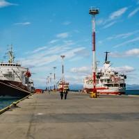 Molo na konci světa v přístavu Ushuaia(Mart Eslem)