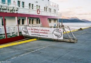 Ledoborec Polar Star v přístavu Ushuaia(Mart Eslem)