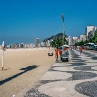 Chodník na pláži Copacabana(Mart Eslem)