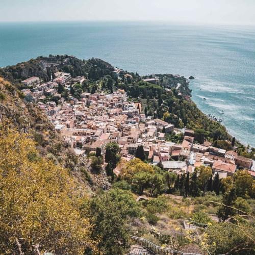 Taormina Itálie Mart Eslem