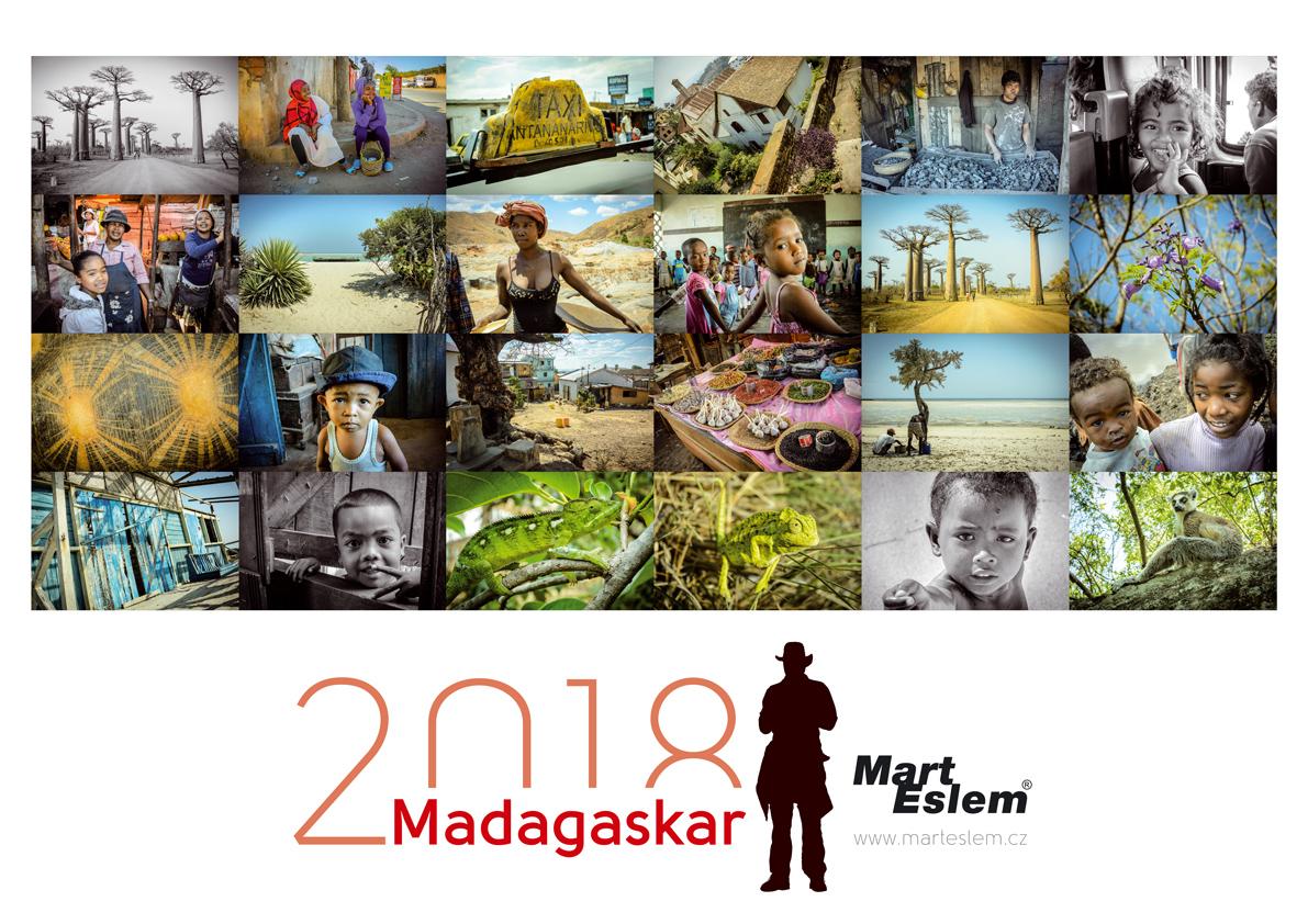Kalendář Madagaskar 2018