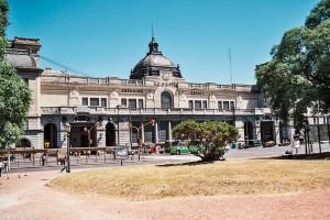 Nádraží Retiro v Buenos Aires