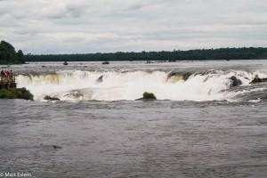 Vodopády Iguazú - okraj Ďáblova chřtánu – Iguazú, Argentina [Mart Eslem]