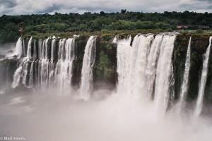 Vodopády Iguazú - kaskáda na brazilské straně – Iguazú, Argentina [Mart Eslem]