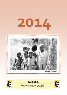 Kalendář na podporu afrických dětí