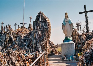 Socha Madony na hoře Křížů (Mart Eslem)
