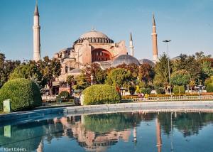 Chrám Hagia Sophia v Istanbulu (Mart Eslem)