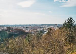 Výhled na Vilnius (Mart Eslem)