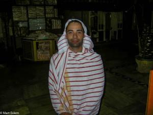Mart Eslem jako švihák lázeňský v Istanbulu (Mart Eslem)