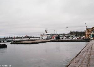 Deštivý přístav v Helsinkách (Mart Eslem)