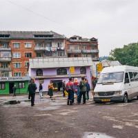 Autobusové nádraží v Mižgurje (Mart Eslem)