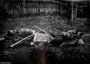 Jediná existující fotografie Nikoly Šuhaje (Mart Eslem)