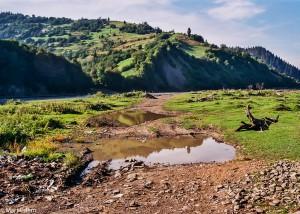Řeka Rika u Mižgurje (Mart Eslem)