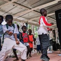 Dětská akce v parku (Mart Eslem)
