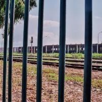 Vagóny na nádraží v Dürresu (Mart Eslem)