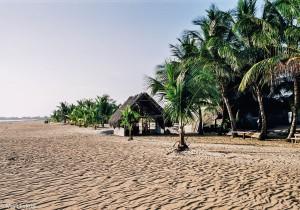 Liduprázdné pláže v Kourou (Mart Eslem)