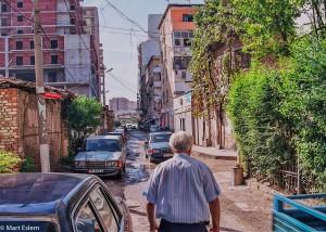 Postranní uličky Tirany (Mart Eslem)