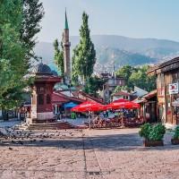 Turecká čtvrť v Sarajevu (Mart Eslem)