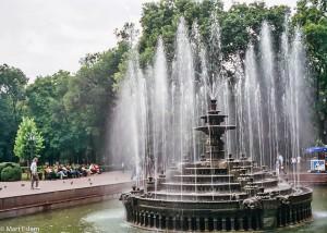 Fontána v parku Stefana cel Mare v Kišiněvě (Mart Eslem)