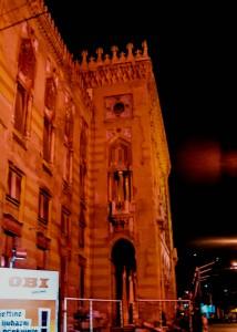 Před touto budovou zastřelili Ferdinanda (Mart Eslem)