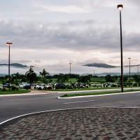 Mystické ráno na letišti ostrova Trinidad (Mart Eslem)