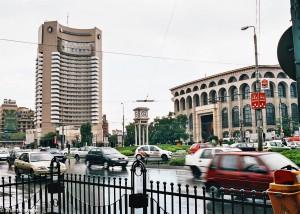 Okolí Piata Universitatii v Bukurešti (Mart Eslem)