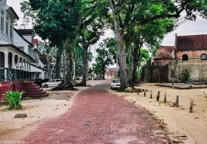 Okolí Fort Zeelandia v Paramaribu (Mart Eslem)