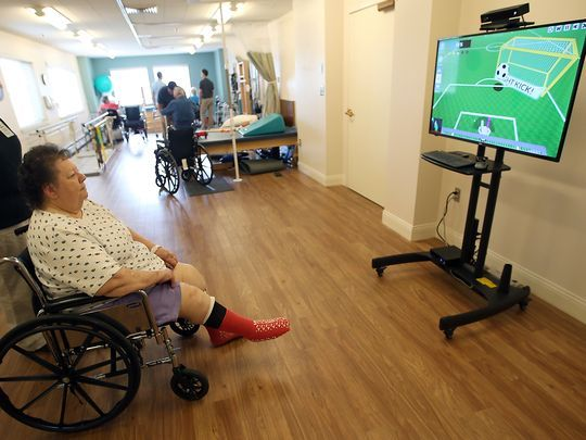 Video games revolutionize rehab at Martha & Mary