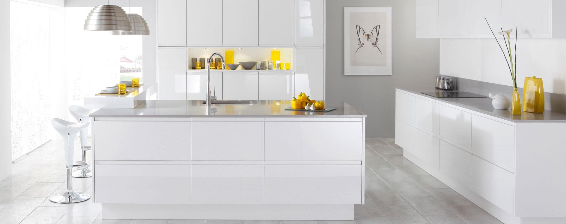 Malmo Painted Contemporary Kitchen  Martha Mockford