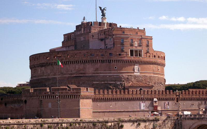 Castel Sant Angelo In Rome Martha S Italy