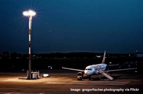 Easyjet plane in Berlin