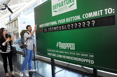 Heineken DepartureRoulette