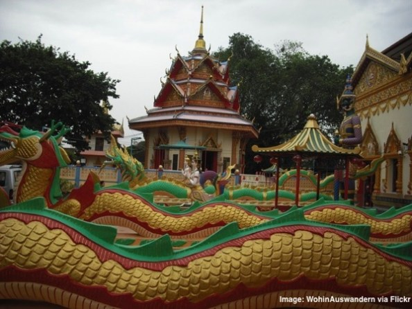 Temple in Malaysia
