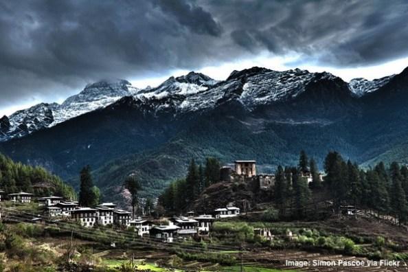 Bhutan Drukgyal Dzong