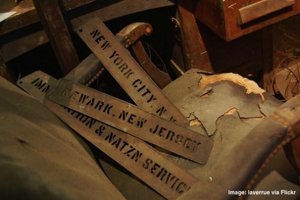 Old vintage Newark New Jersey Sign