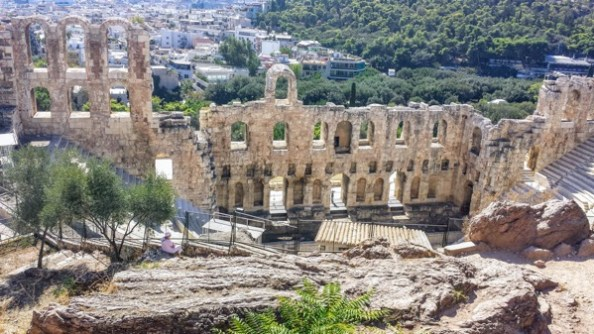 Athens Odeon of Herodes Atticus things to do in Athens by night