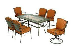martha stewart patio chairs oversized sleeper chair living mallorca ii cushions | replacement