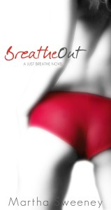 Breathe Out by Martha Sweeney book cover iPhone 6 Wallpaper
