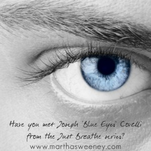 Joe Covelli of the Just Breathe series by Martha Sweeney