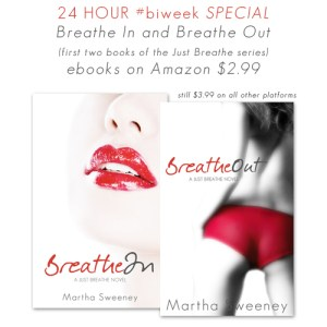 #biweek special for Breathe In and Breathe Out by Martha Sweeney