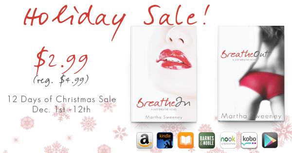 Martha Sweeney 12 Days of Christmas Sale