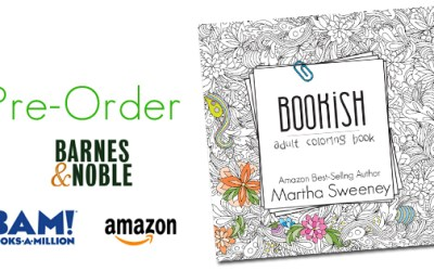Bookish: Adult Coloring Book Pre-Orders SOLD OUT